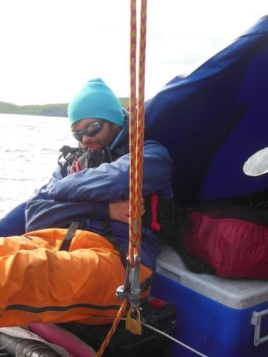Sleeping seaman...