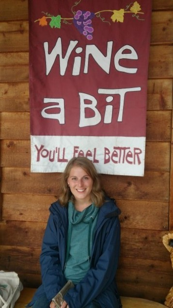 Wine a bit - you'll feel better!