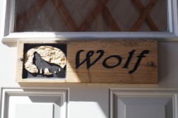 "I live in the ""wolf"" yurt"