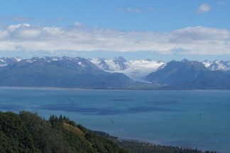 View over Kachemak Bay
