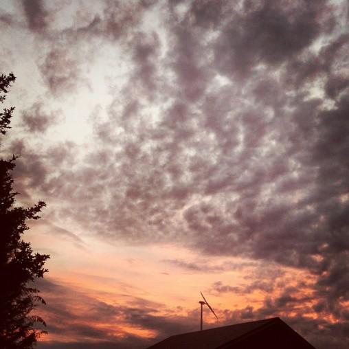 Beautiful northern sky