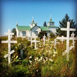 Orthodox church in Ninilchik