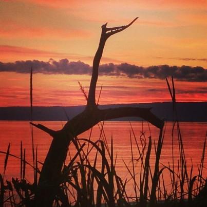 I love the sunsets in Alaska!