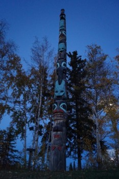 Alaskan Native Totem