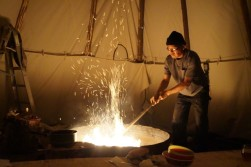 031_Making Fire in the Tipi
