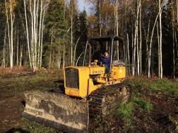 051_Driving a bulldozer