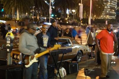 Street Concert in SF