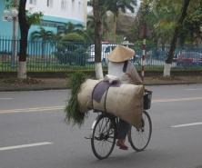 Always carrying something...