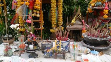 Buddhist Shrines everywhere