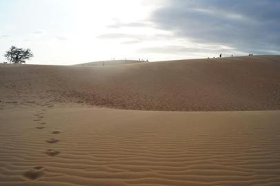 The Red Sand Dunes