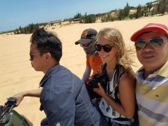 The White Sand Dunes
